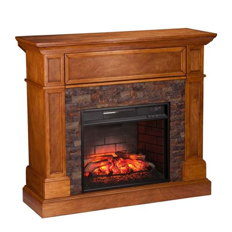 Infrared Media Fireplace by Southern Enterprises Rosedale Infrared Media Fireplace In Fi9345