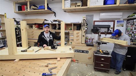carpentry bench custom npcs build a woodworking workbench jays custom creations