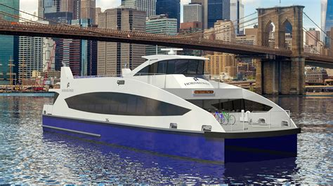 fast boats sales company llc metal shark to build ferries for new york city