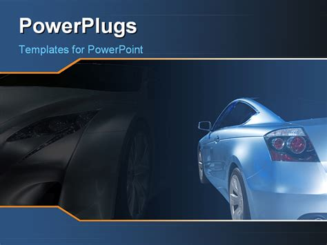 powerpoint themes cars powerpoint template a luxurious car with its shadow in