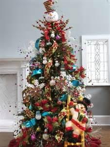 christmas tree theme ideas christmas trees snow doll theme decorating ideas pictures