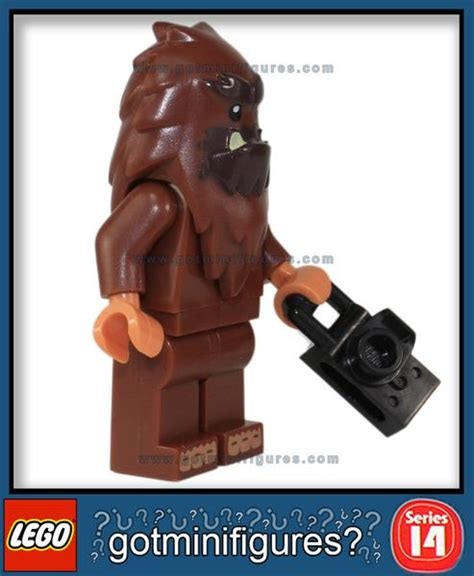Lego Minifigure Seri 14 Square Foot lego series 14 square foot bigfoot monsters