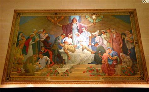 nurses mural  daniel macmorris  liberty memorial