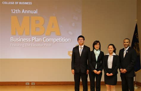 Business Plan Competitions Mba by Students Compete In 12th Annual Mba Business Plan