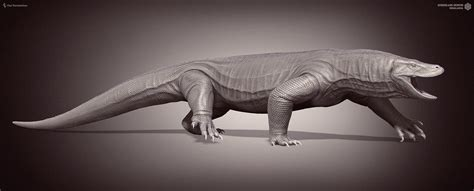 Megalania. Queensland Museum. by Swordlord3d on DeviantArt
