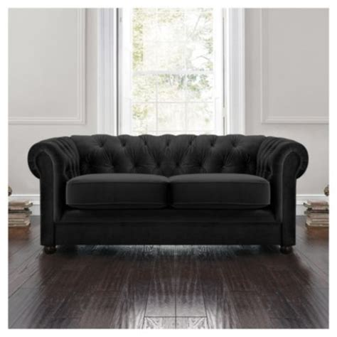 small chesterfield sofa beautiful small black sofa 8 black velvet chesterfield