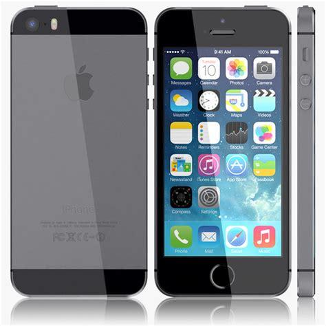 Apple Iphone 5 5s 3d apple iphone 5s