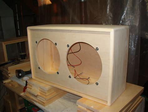 speaker cabinets building diy blueprint plans