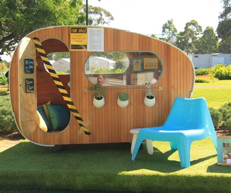designer cubby houses architectural cubby houses raise funds for homeless children state of green