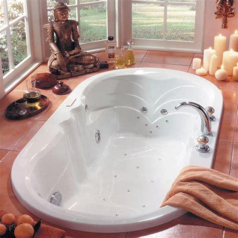 Jetted Soaker Bathtub Neptune Modern 66x34 Oval Drop In Bathtub Soaker