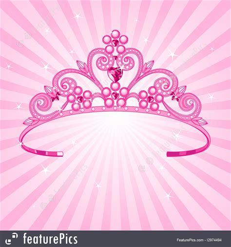 fashion accessories princess crown stock illustration