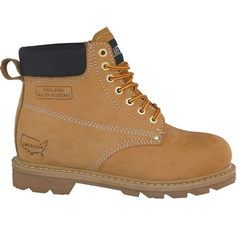 american leather work boot