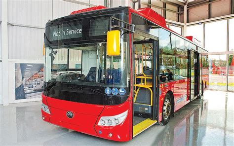 chinauk electric buses  reduce emissions  britain