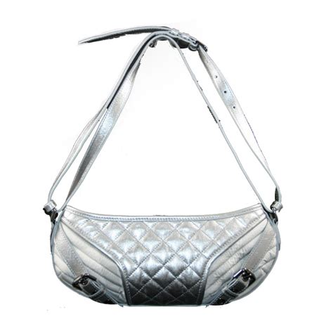 Burberry Patchwork Check Bag Purses Designer Handbags And Reviews At The Purse Page by New Burberry Silver Quilted Check And Leather Half