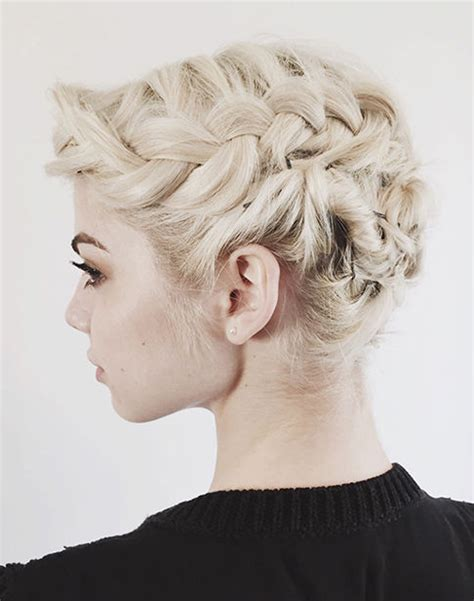 bob hairstyles updo short hair updos 30 easy and stylish updos for short hair
