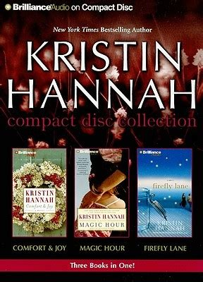 comfort and joy kristin hannah comfort and joy magic hour firefly lane by kristin