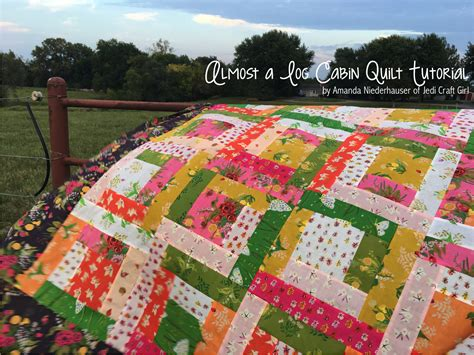 log cabin quilt almost a log cabin quilt tutorial