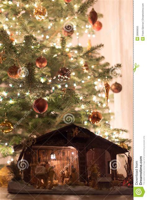 Crib Tree by Tree With Crib Stock Photo Image 28969650