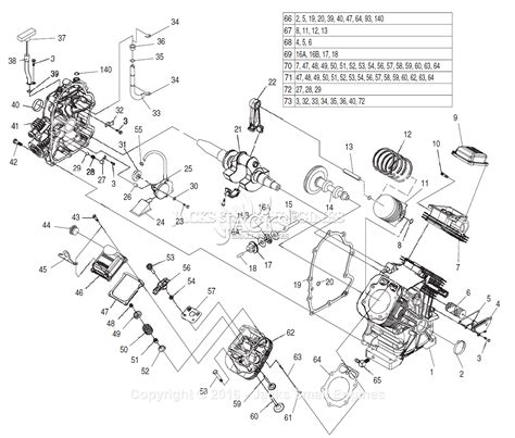generac parts diagram generac 4758 0 parts diagram for engine gt990 760