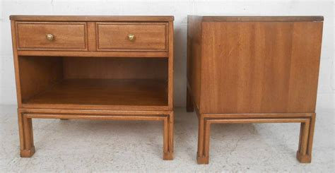 mahogany nightstands by davis cabinet co for sale at 1stdibs