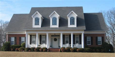 one and half story house plans 654280 one and a half story 4 bedroom 3 5 bath southern country farmhouse style