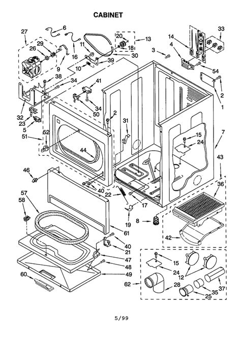 kenmore he5 parts diagram electrical schematic