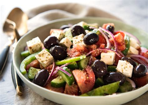 greek salads greek salad recipetin eats