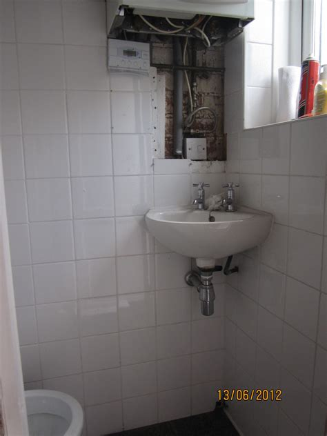 New toilet, sink, floor upstairs & Downstairs loo also