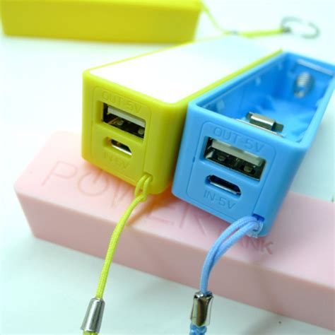 diy phone charger buy portable mobile power usb 18650 diy battery charger