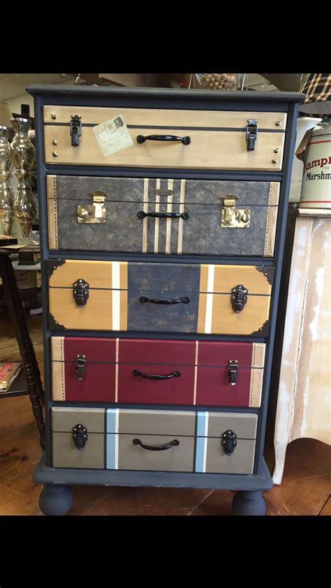 drawers painted    suitcases    graphite cream paris grey arles burgundy