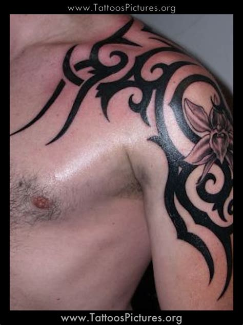 tribal tattoo for arm and shoulder shoulder and arm tribal tattoos best
