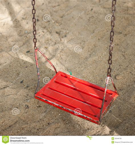 red swing red swing royalty free stock photo image 32546735