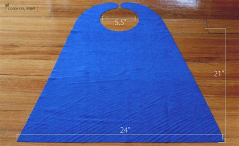 diy cape template cape tutorial craft sewing