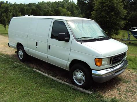 purchase used 2003 ford e series e 250 cargo van in fort lawn south carolina united states