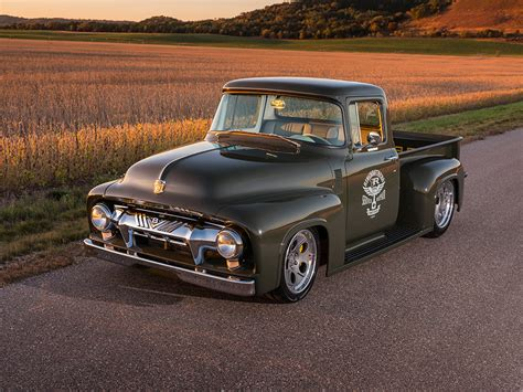 1956 Ford F100 by Ringbrothers 1956 Ford F100 Fast Car