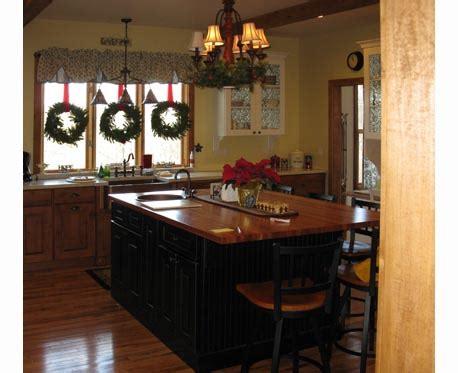 black island kitchen kitchens by deming remodeling