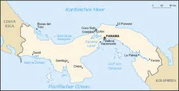 panama south america map