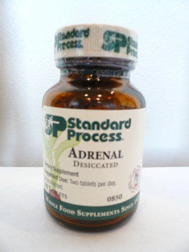 Adrenal Detox Home Remedy by Standard Process Adrenal Desiccated 90 T Herb And Home