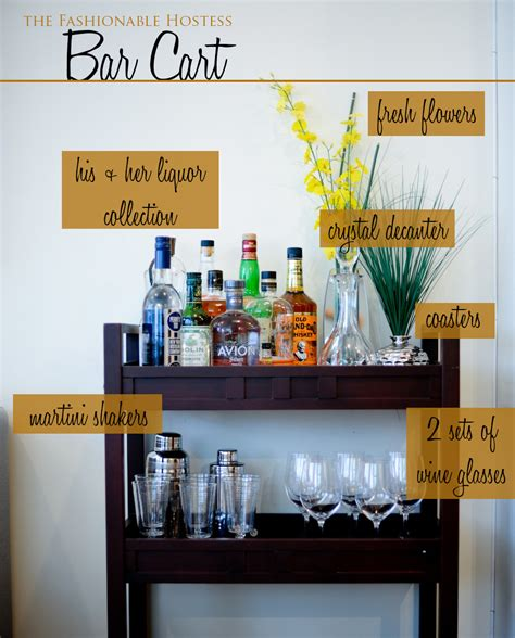 how to decorate a bar everything you need for a perfectly styled bar cart