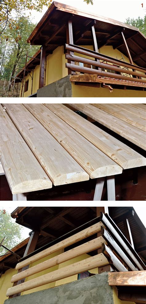 ringhiera da esterno ringhiera in legno esterno