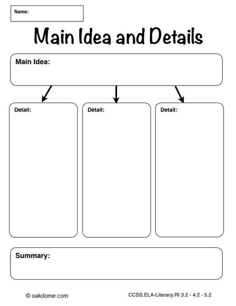 printable worksheets main idea and supporting details main idea and details web printable ipad graphic