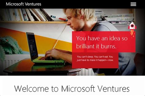 Mba Ms Media Ventures by Microsoft 新興企業支援事業を Microsoft Ventures に統合 Itmedia エンタープライズ