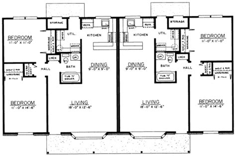ranch style house plan 2 beds 1 baths 1800 sq ft plan