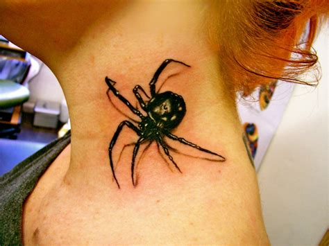 tattoo 3d spider 30 awesome spider tattoo designs