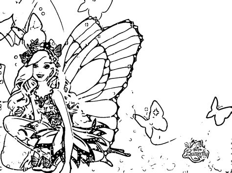 barbi mariposa coloring pages az coloring pages