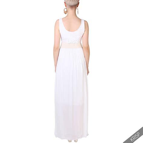 Dress Cotton Soft soft cotton pleated maxi dress flared