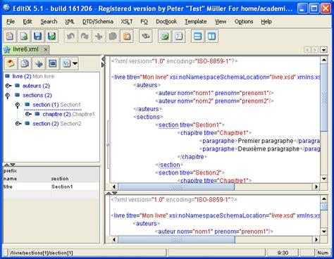 xml editor xml editor