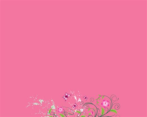pretty pink backgrounds powerpoint presentation