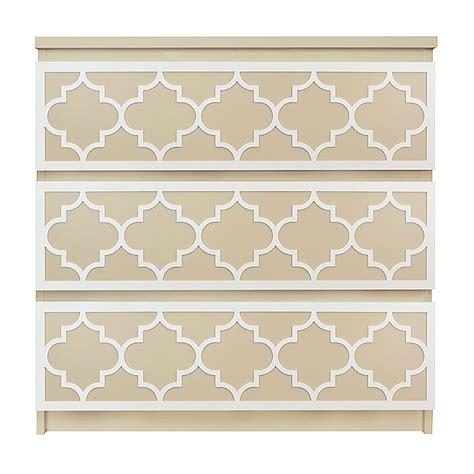 malm overlays o verlays jasmine kit ikea malm 3 drawer dresser diy