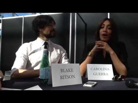 da vinci's demons    carolina guerra and blake ritson